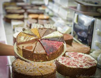 Paleo, vegán torták és szeletek